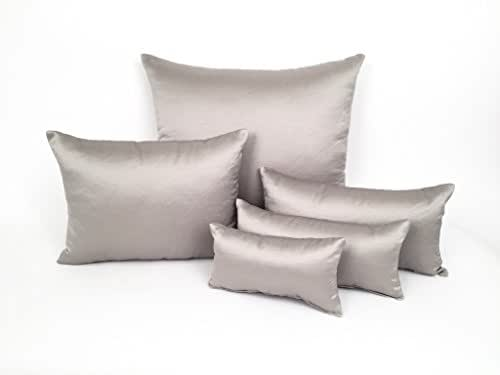Made to Order : Grey Taupe Smooth Purse Pillows, Protect your Handbags