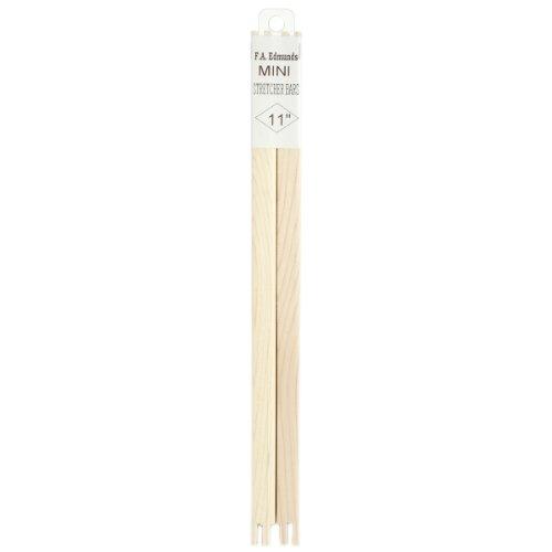 FA Edmunds Bulk Buy Mini Stretcher Bars 11 inch x 1/2 inch 2011 (4-Pack)