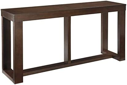 BOWERY HILL Console Table in Dark Brown