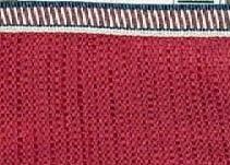 Longaberger Medium Gathering Basket Liner Proudly American Paprika Color Fabric Drop In Style