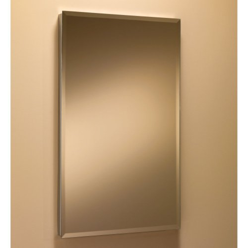 picture of Broan-Nutone Basic S-Cube 16W x 26H in. Recessed Medicine Cabinet 868P24SS