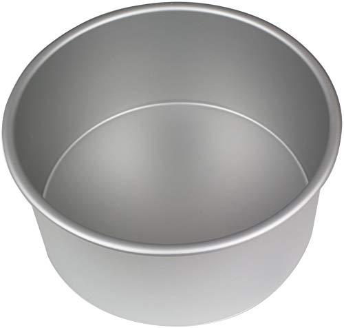 PME RND084 Seamless Professional Aluminum Baking, 8
