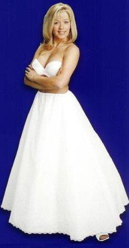 A line full bridal petticoat crinoline wedding slip (CH106DS)