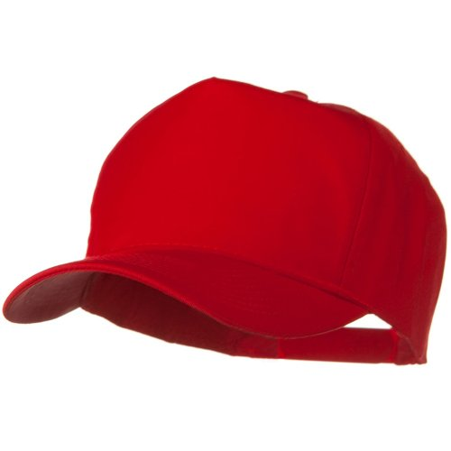 Panel Pro Style Twill Cap (Solid Cotton Twill Pro style Golf Cap -)