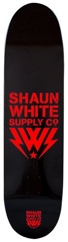 Shaun White Supply Co. Pro Deck Only Logo Red
