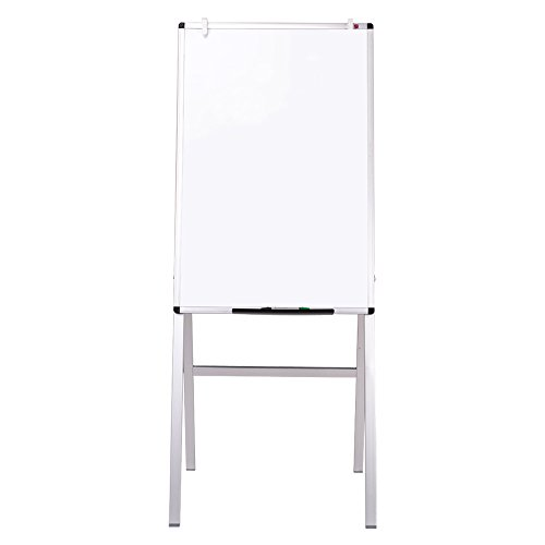 - VIZ-PRO Melamine H-Stand Whiteboard/Adjustable Dry Erase Easel,24 x 36 Inches