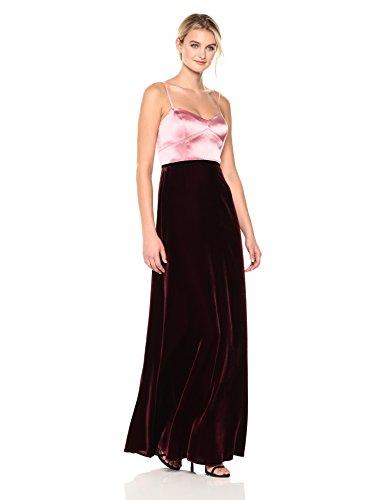 Velvet Strapless Gown - 3