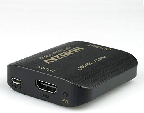 MeterMall HDMI a AV 1080P Adaptador convertidor de HDMI a SCART AV Adaptador de Audio y Video HDMI in Scart out para PS4 DVD Televisor Antiguo NTSC/PAL: Amazon.es: Electrónica