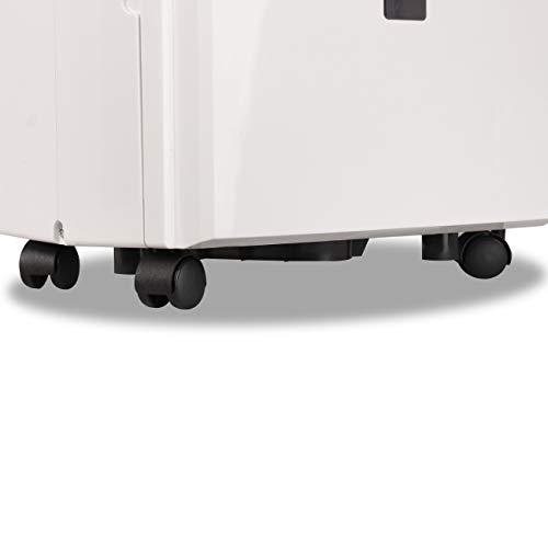 BLACK+DECKER BDT50PWTB 50 Pint Energy Star Portable Dehumidifier with Built-in Pump, w, White