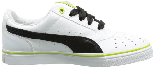 Puma - Zapatillas bajo, tamaño 46 UK, color chocolate brow Blanco (Weiß (white-black 20))