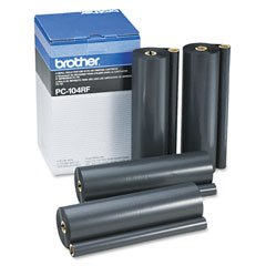 Brother Refill Rolls for Use in PC101 4-Pieces (PC104RF)