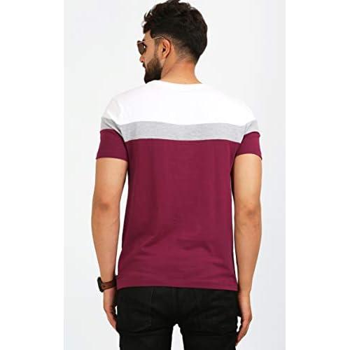 31hWx4UjdDL. SS500  - AELOMART Men's Regular Fit T-Shirt