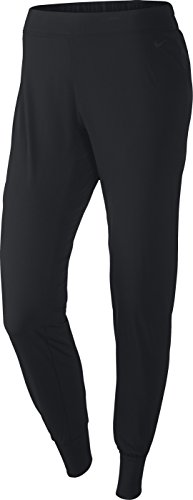 Nike Women's Woven Bliss Skinny Fit Black Pants Size XL
