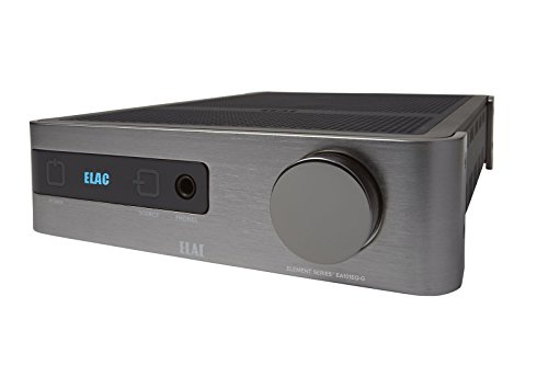 ELAC EA Series Integrated Amplifier, Silver (EA101EQ-G)