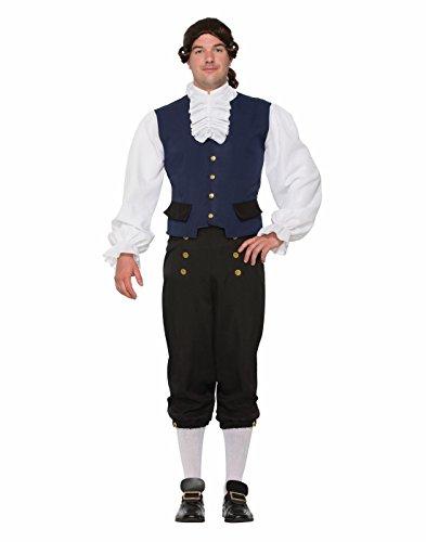 Mens Colonial Costume (British Alexander Goodman Costume Colonial Mens Naturalist Historical Std)