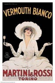 Martini & Rossi Vermouth Bianco Poster