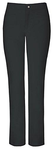 Sapphire Women's Roma Zip Fly Slim Pant_Black Onyx_Medium Petite,SA101AP