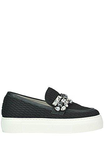 Sconosciuto 181 Slip On Sneakers Donna MCGLCAK02000I Tessuto Nero