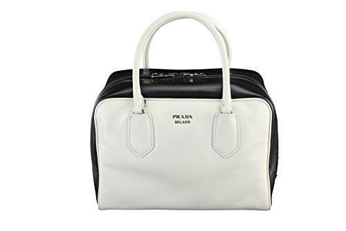 Prada Womens Soft Calf Tote - Multi-Color Leather (Prada Soft Handbag)