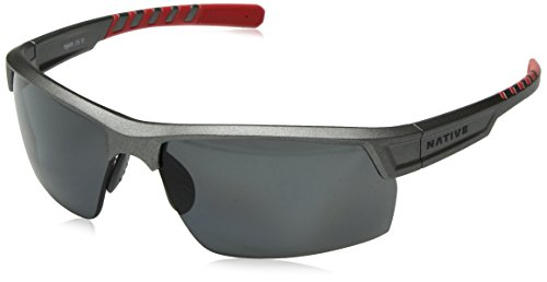 Native Eyewear Catamount Sunglass, Platinum, Gray