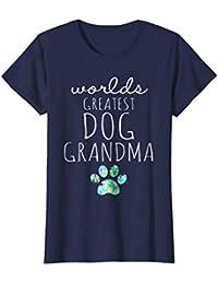 Worlds Greatest DOG Grandma, Graphic T Shirt, Love my Dog