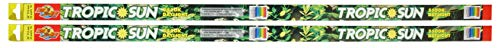 (2 Pack) Zoo Med Tropic Sun 5500K Daylight Fluorescent Bulb T8 25 Watt, 36-Inch