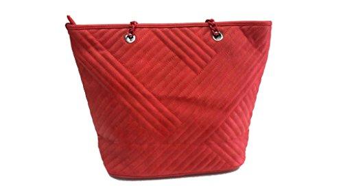 Borsa donna Basile l.bilbo shopping a spalla 3149-5 rosso