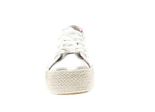 Sneakers Cafènoir Caf Noir Kdh905 Cordino Lungo Corde Caf Noir Bianco / Argento Bianco