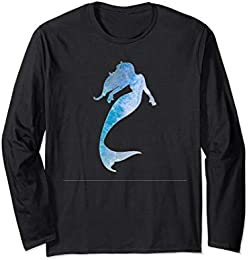 Mermaid Water Silhouette T-Shirt