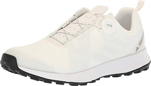 - adidas outdoor Terrex Two Boa Mens Trail Running Shoes, Non-Dyed/White/Black, 11