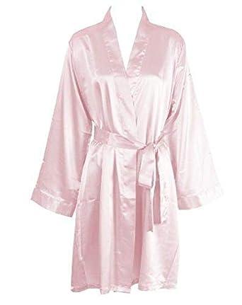 1b4f01ae3c4 IngerT Bridal Slips Sleepwear V Neck Long Sleeves Elegant Home Robe for  Women
