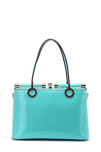 MKF Collection Alice Structured Designer Handbag by Mia K. Farrow (Green)