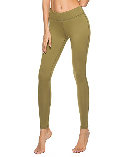 Olacia Womens Power Flex Workout Leggings Running Pants Tummy Control Soft Yoga Leggings S-XXL – DiZiSports Store