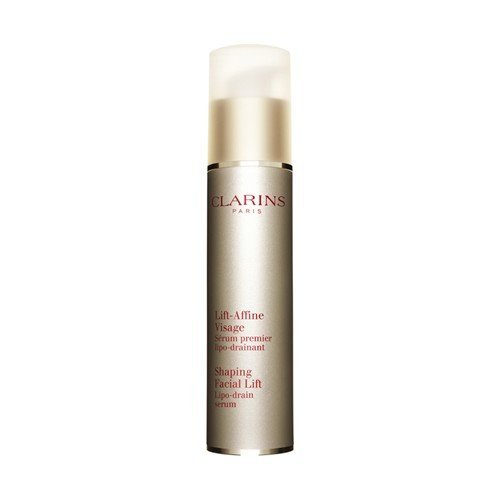 Shaping Facial Lift - Two way world Clarins Lift Affine Total V Serum 50 ml # 13881, 1.7 oz, Clear