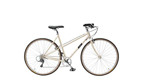 Handsome She Devil 8 Speed Mixte Step Through Women's City Bicycle Shaving Cream