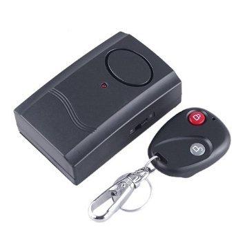 NEWSKY Security Wireless Remote Control Vibration Car Motorcycle Detector Burglar Alarm