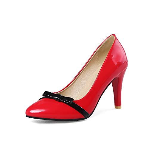 5 DGU00461 Compensées Sandales 36 Femme Red AN Rouge Hw0Fq