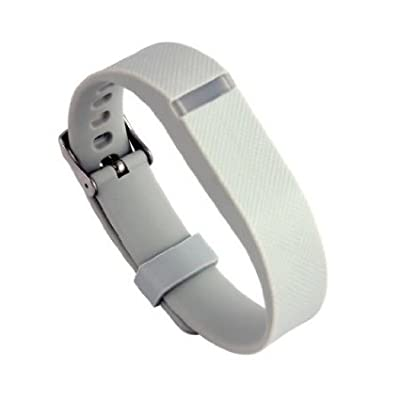 Replacement Wrist Band Buckle for Fitbit Flex - Code001 grey