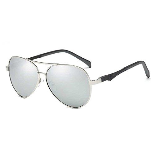 de Lentes de Lente Gafas Bloqueador Conducción Gafas piloto la Gafas 4 Protección de Coolsir de polarizada Las Providethebest Sol de UV Vendimia Sol Solar STBaRw