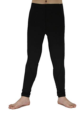 Boy's Sports Running Stretch Pants Compression Football Legging