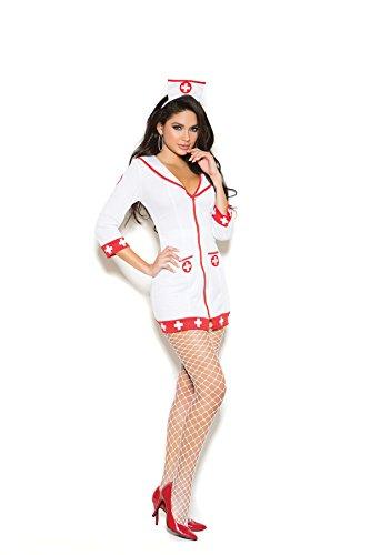 (Cardiac Arrest Nurse 2 Pc. Costume Includes Zip Front Dress Head)
