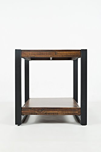 """jofran: 1690-3, loftworks, square end table, 23""""w x 23""""d x 24""""h, loftworks finish, (set of 1)"""