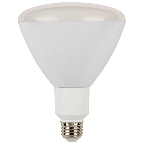 Dimmable R40 Reflector - Westinghouse 0316300 17W R40 Reflector LED Dimmable Bulb, Warm White E26 (Medium) Base, 120V, Box