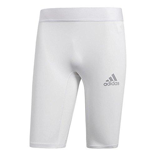 湖整理する驚adidas(アディダス)メンズ ALPHASKIN TEAM ショートタイツ アルファスキン サッカーインナー EVN54