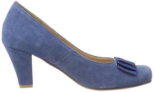 HIRSCHKOGEL 1004504, Zapatos de Tacón con Punta Cerrada para Mujer, Gris (Grau 031), 42 EU