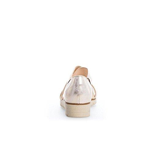 Gabor 64.572.62 - Sandalias de vestir para mujer metálico