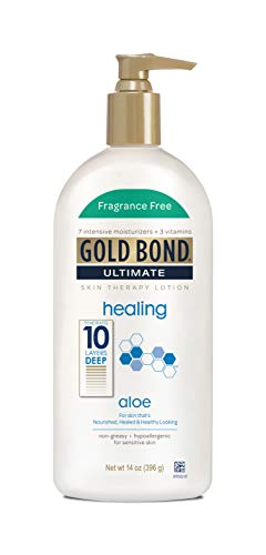 Gold Bond Ultimate Fragrance Free Lotion, 14 Ounce ()