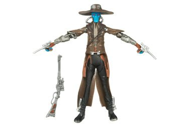 Star Clone Wars Figures Wars (Star Wars 2009 Clone Wars Animated Action Figure CW-22 Cad Bane [Toy])