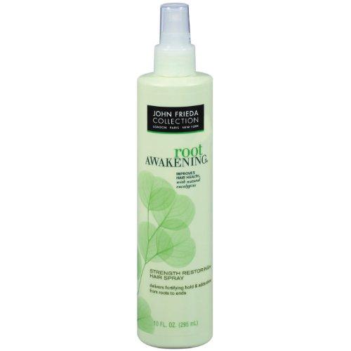 JOHN FRIEDA Root Awakening Strength Restoring Hair Spray for Unisex, 10 Ounce