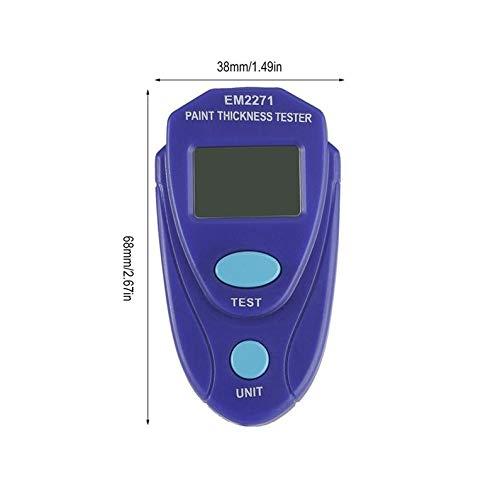 KEKJORY EM2271 Digital Min Painting Thickness Meter Car Coating Thickness Gauge